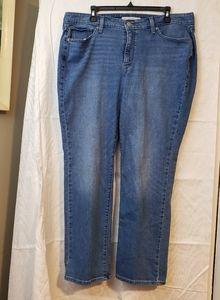 LEVI'S 414 Classic Straight denim jeans 18w